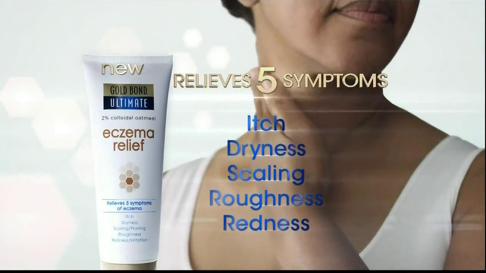 Gold Bond Eczema Relief TV Spot, 'Scratching' - Screenshot 8