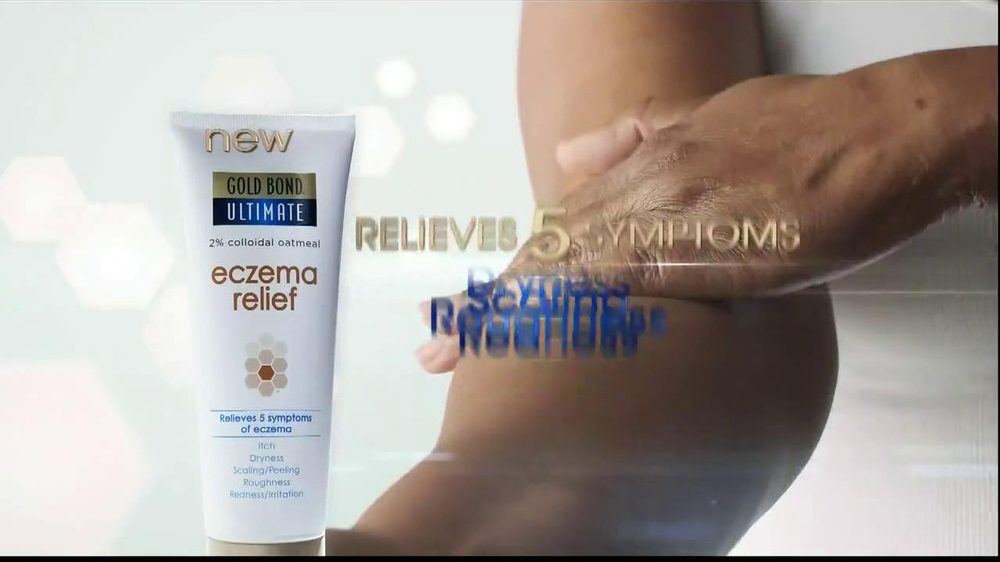 Gold Bond Eczema Relief TV Spot, 'Scratching' - Screenshot 9
