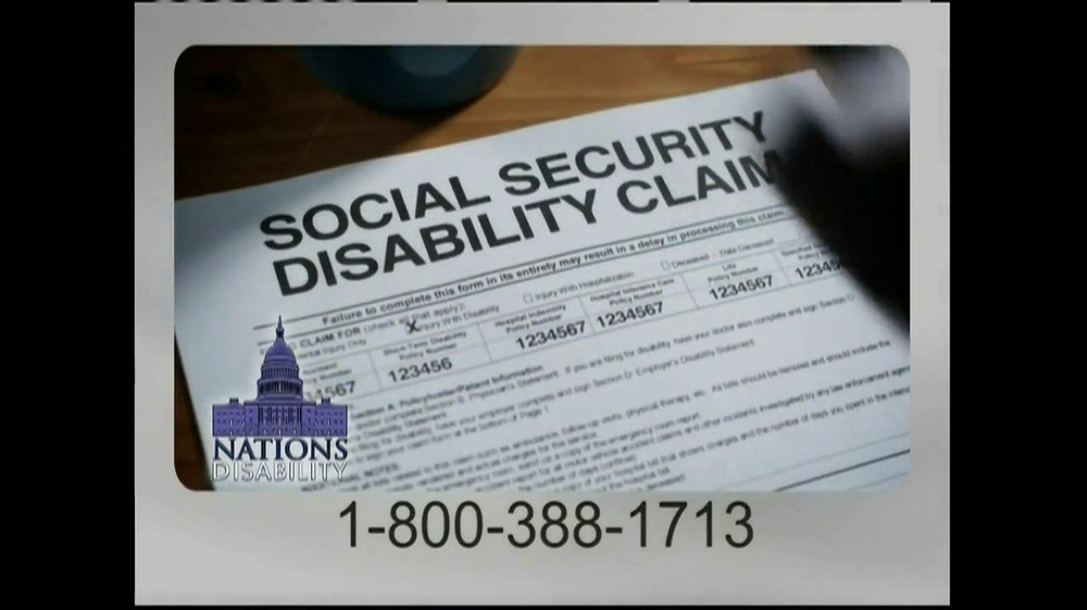 Nations Disability TV Spot, 'Social Security' - Screenshot 4