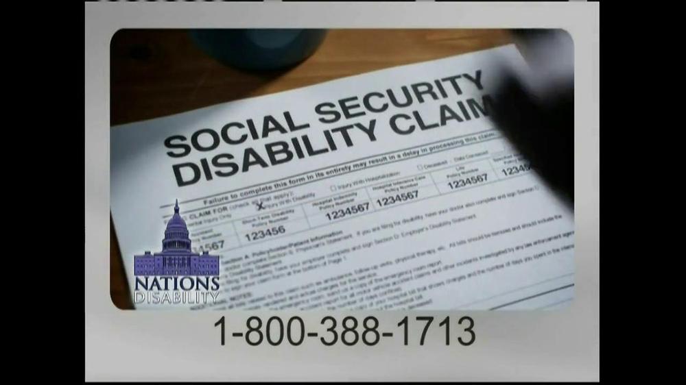 Nations Disability TV Spot, 'Social Security' - Screenshot 4