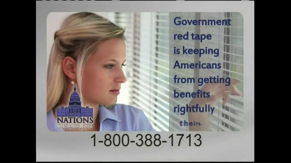 Nations Disability TV Spot, 'Social Security' - Screenshot 6