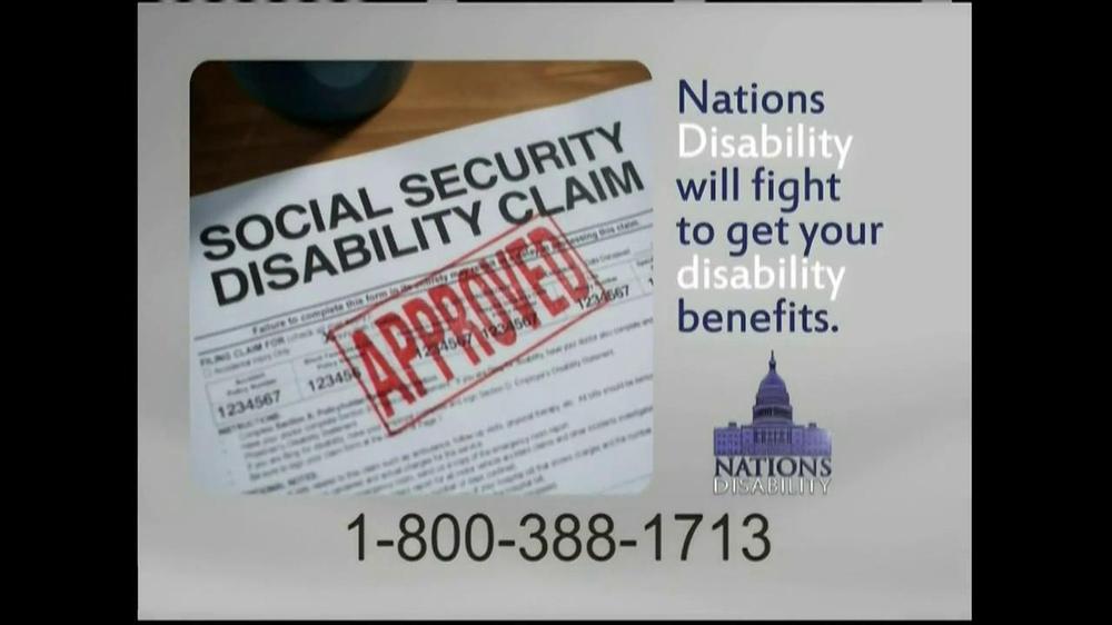 Nations Disability TV Spot, 'Social Security' - Screenshot 9