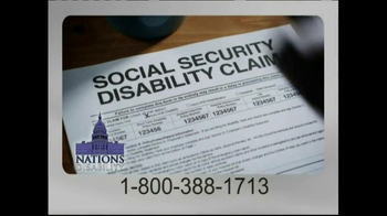 Nations Disability TV Spot, 'Social Security' - Thumbnail 4