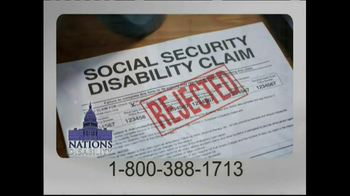 Nations Disability TV Spot, 'Social Security' - Thumbnail 5