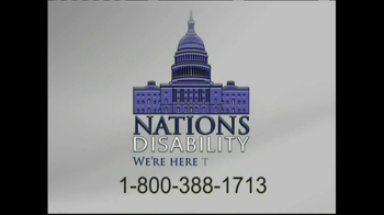 Nations Disability TV Spot, 'Social Security' - Thumbnail 7