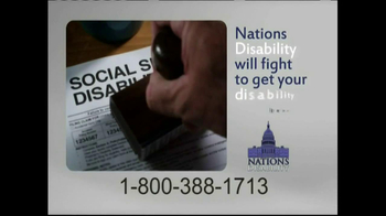 Nations Disability TV Spot, 'Social Security' - Thumbnail 8