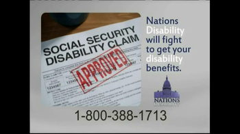 Nations Disability TV Spot, 'Social Security' - Thumbnail 9