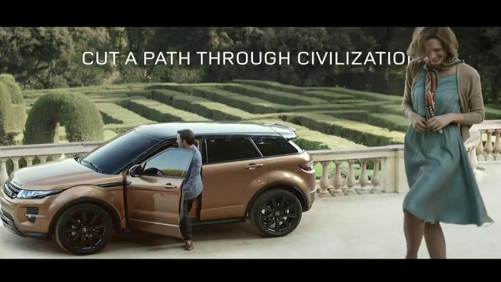 Range Rover Evoque TV Spot, 'Scarf' Song by Jun Miyake - Screenshot 10