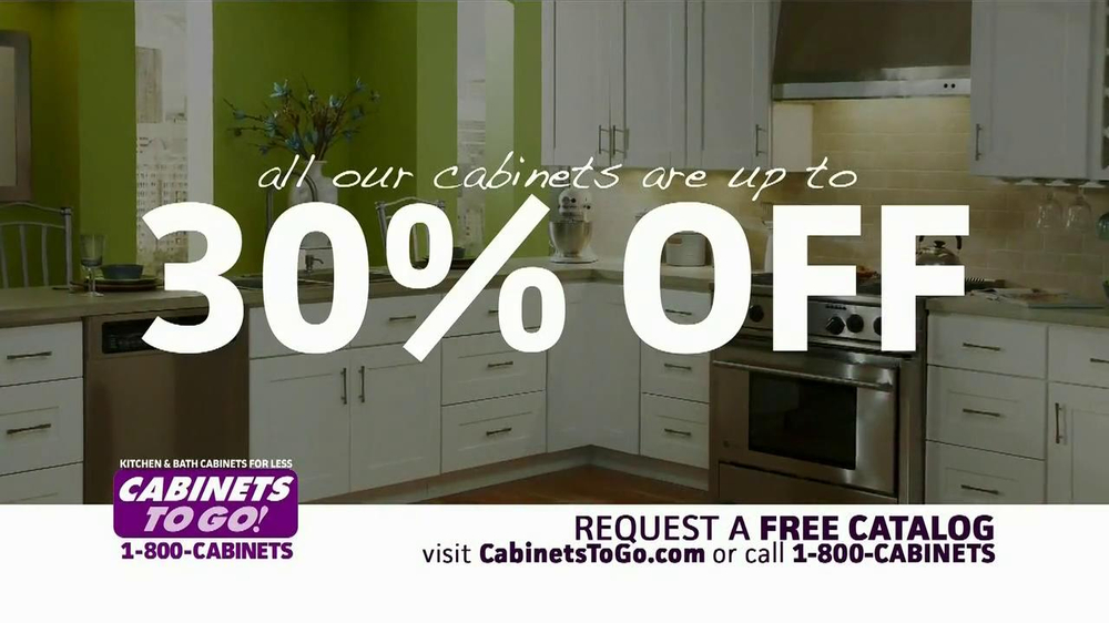 Cabinets To Go Tv Commercial Featuring Alison Victoria