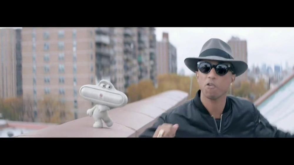 Beats Audio TV Spot, 'Happy' Featuring Pharrell Williams - Screenshot 2