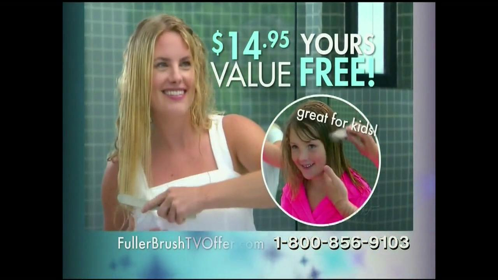 Fuller Brush Company ExStatic BrushTV Spot - Screenshot 8