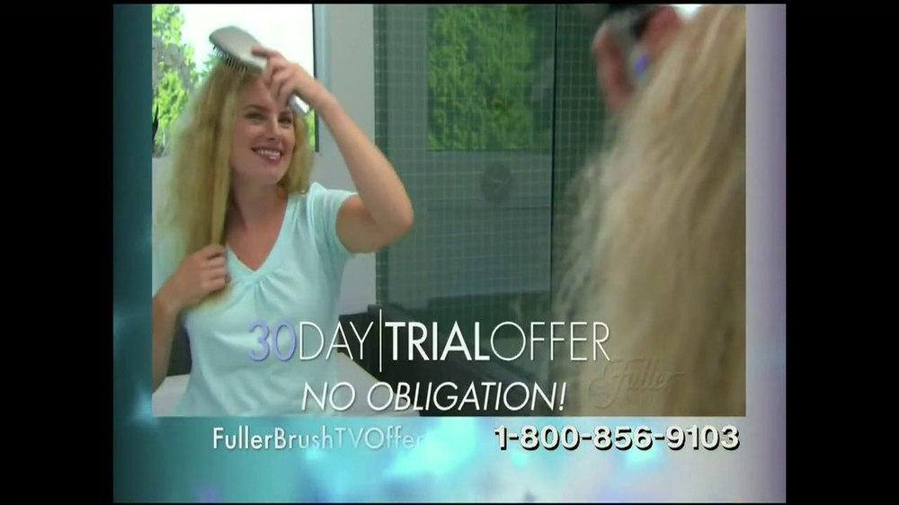 Fuller Brush Company ExStatic BrushTV Spot - Screenshot 9