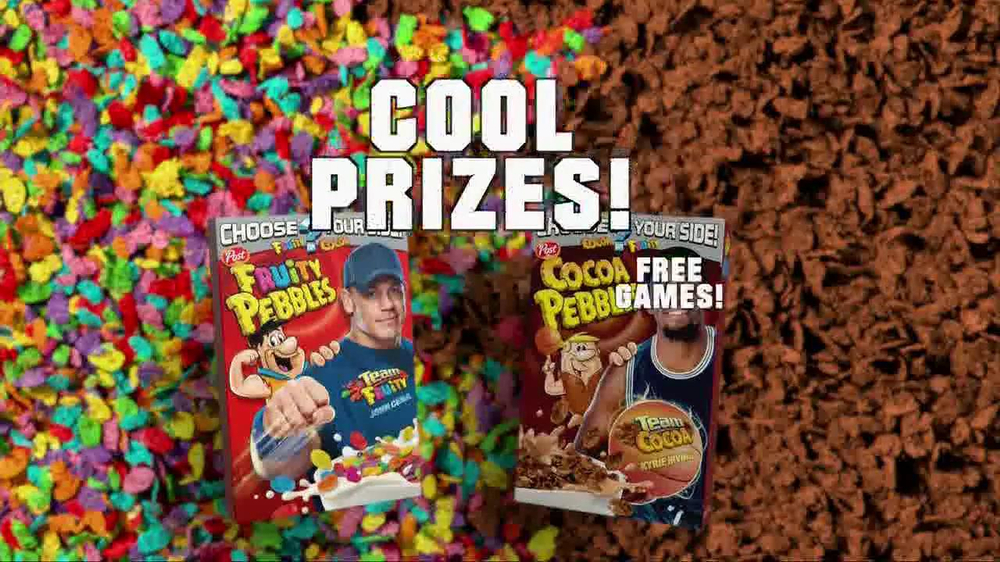 Fruity Pebbles TV Spot Featuring John Cena, Kyrie Irving - Screenshot 10
