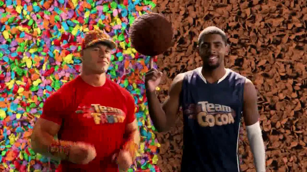 Fruity Pebbles TV Spot Featuring John Cena, Kyrie Irving - Screenshot 3