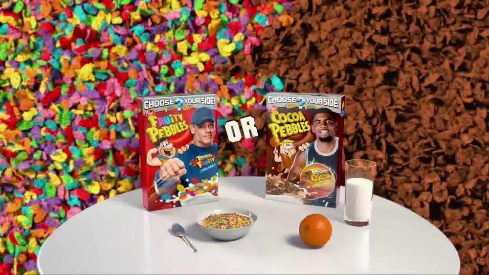 Fruity Pebbles TV Spot Featuring John Cena, Kyrie Irving - Screenshot 8