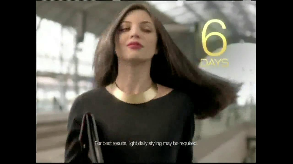 TRESemme Keratin Smooth7 Day Smooth System TV Spot - Screenshot 10Tresemme Keratin Smooth Commercial