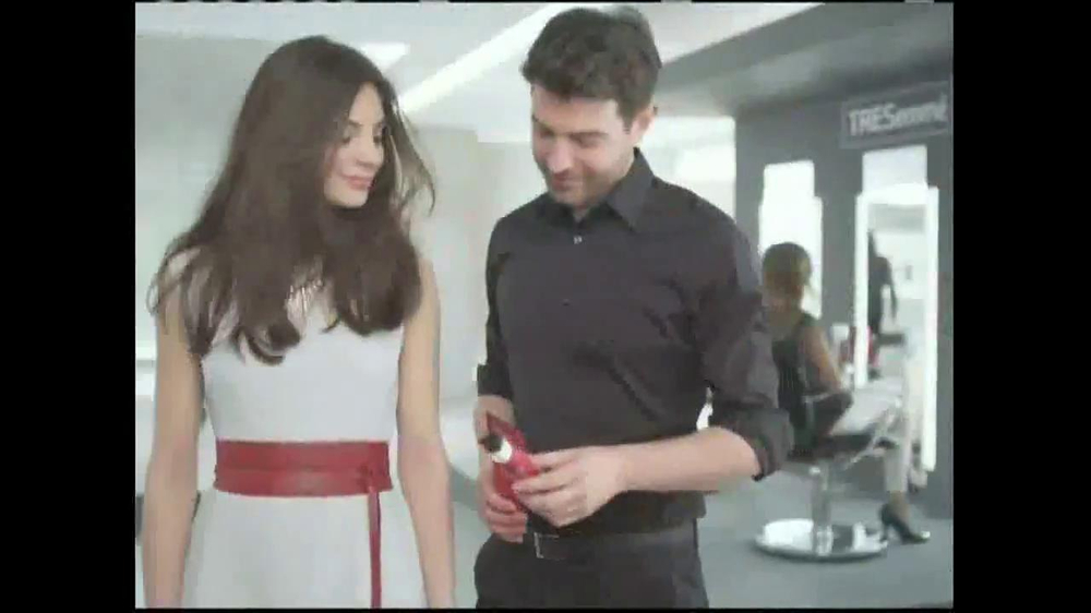 TRESemme Keratin Smooth7 Day Smooth System TV Spot - Screenshot 3Tresemme Keratin Smooth Commercial