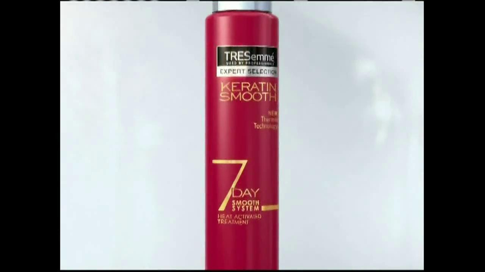 TRESemme Keratin Smooth7 Day Smooth System TV Spot - Screenshot 5Tresemme Keratin Smooth Commercial
