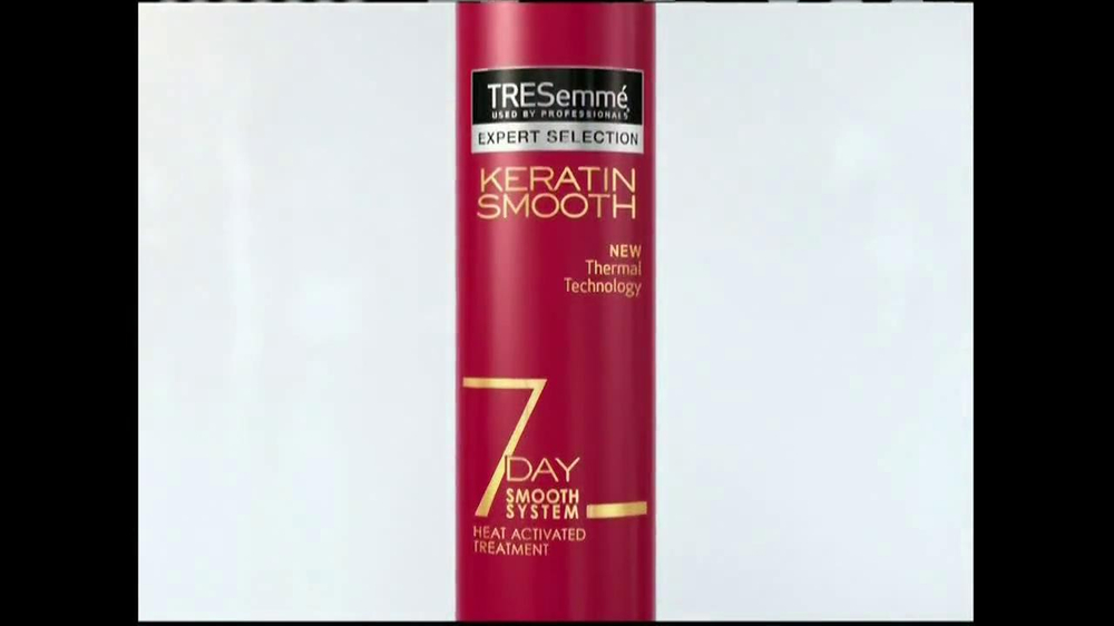 TRESemme Keratin Smooth7 Day Smooth System TV Spot - Screenshot 6Tresemme Keratin Smooth Commercial