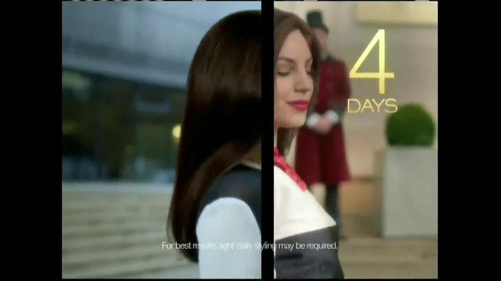TRESemme Keratin Smooth7 Day Smooth System TV Spot - Screenshot 9Tresemme Keratin Smooth Commercial