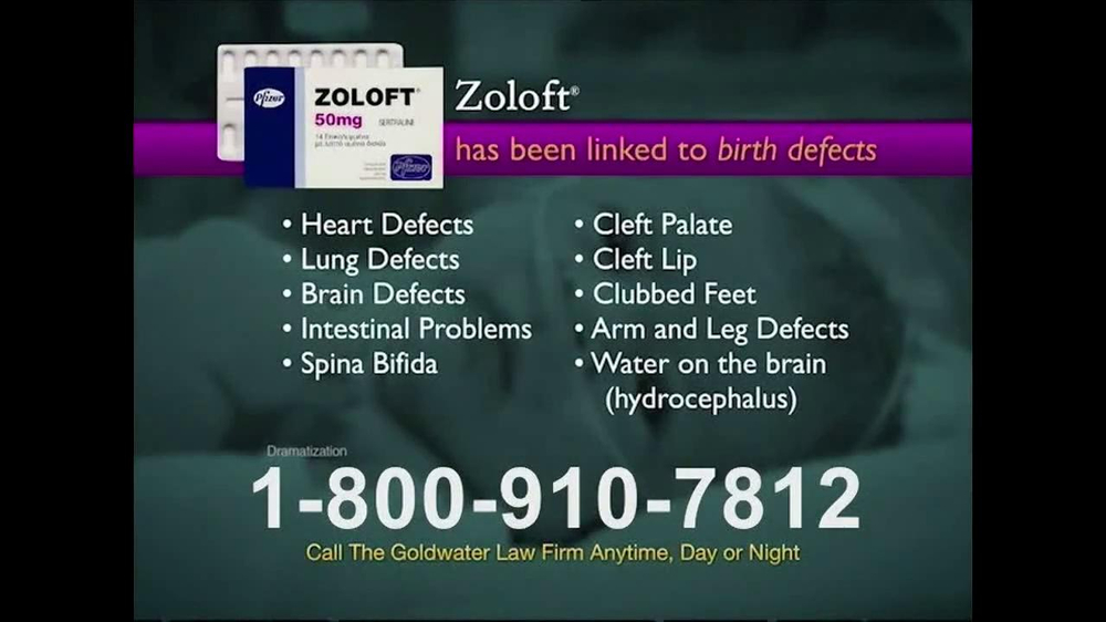 Pulaski Law Firm >> Goldwater Law Firm TV Spot, 'Zoloft' - iSpot.tv