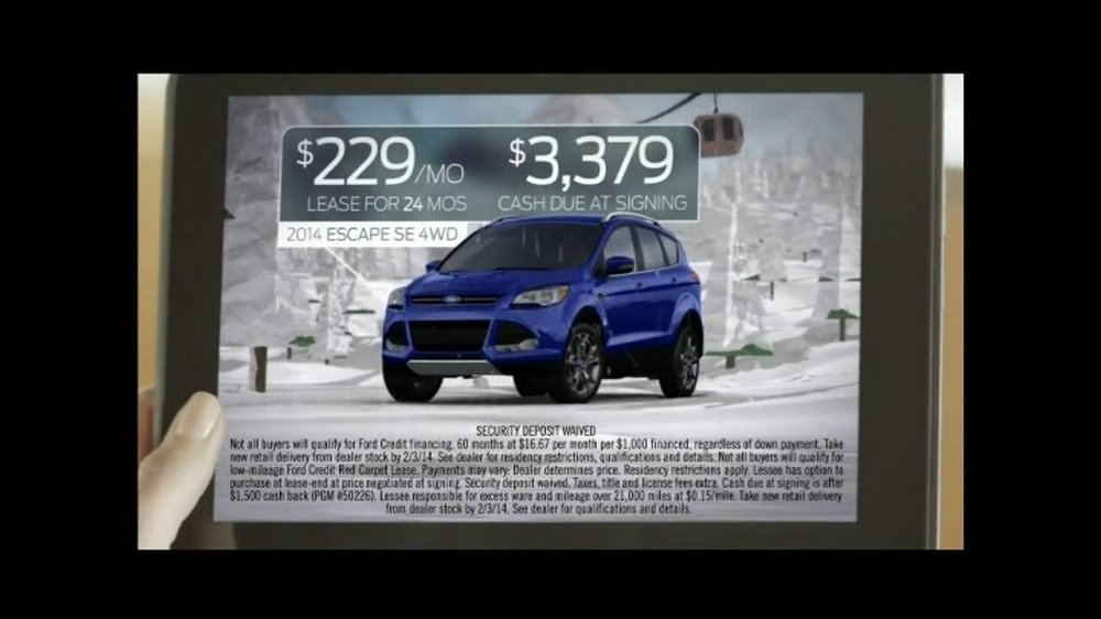 2014 Ford Escape TV Spot, 'Weather' - Screenshot 10