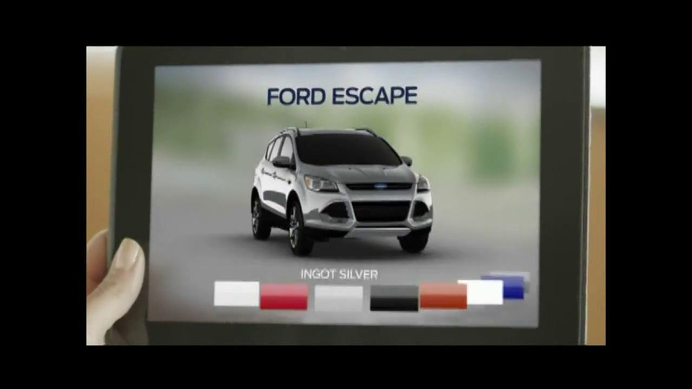2014 Ford Escape TV Spot, 'Weather' - Screenshot 4