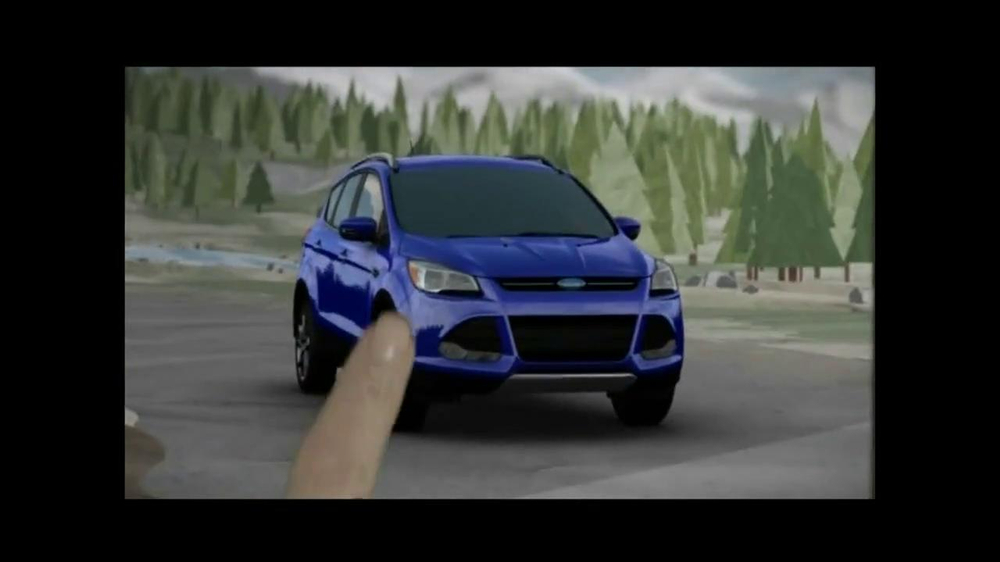 2014 Ford Escape TV Spot, 'Weather' - Screenshot 5