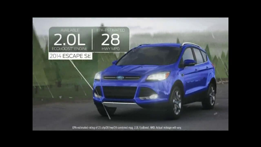 2014 Ford Escape TV Spot, 'Weather' - Screenshot 6