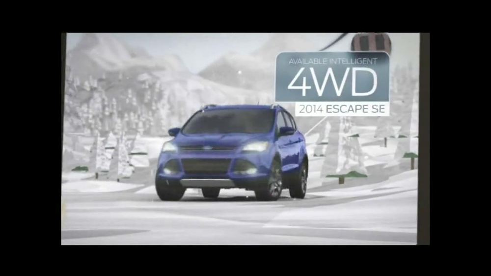 2014 Ford Escape TV Spot, 'Weather' - Screenshot 7