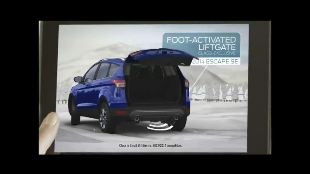 2014 Ford Escape TV Spot, 'Weather' - Screenshot 8