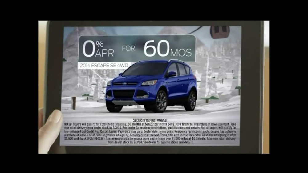 2014 Ford Escape TV Spot, 'Weather' - Screenshot 9