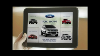 2014 Ford Escape TV Spot, 'Weather' - Thumbnail 3