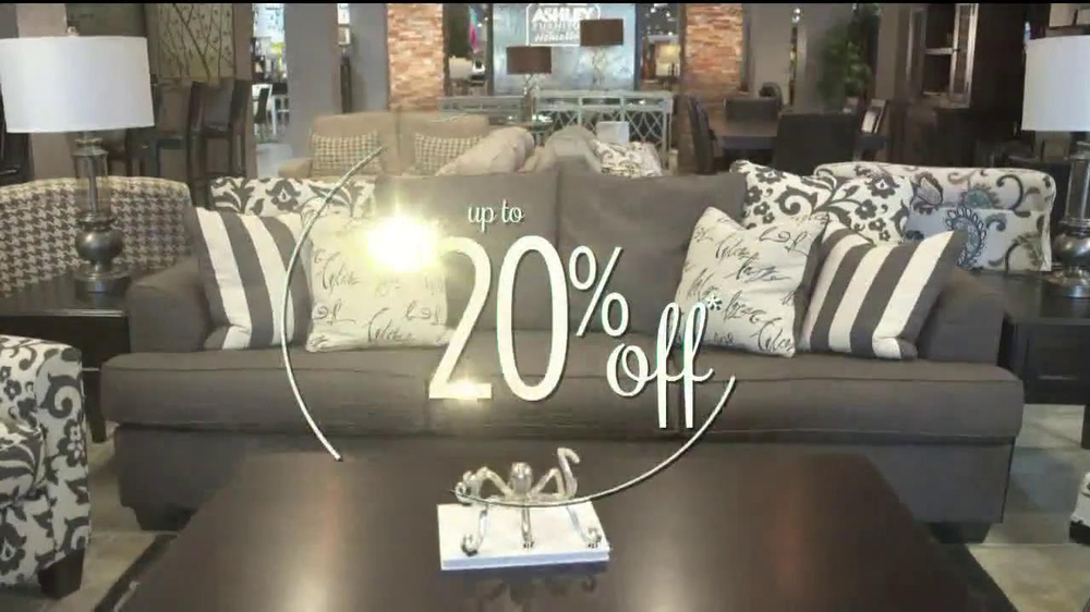 Ashley Furniture Homestore National Sale & Clearance TV