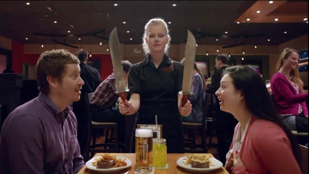 Outback Steakhouse TV Spot, 'Now That's a Steak Knife' - Screenshot 10