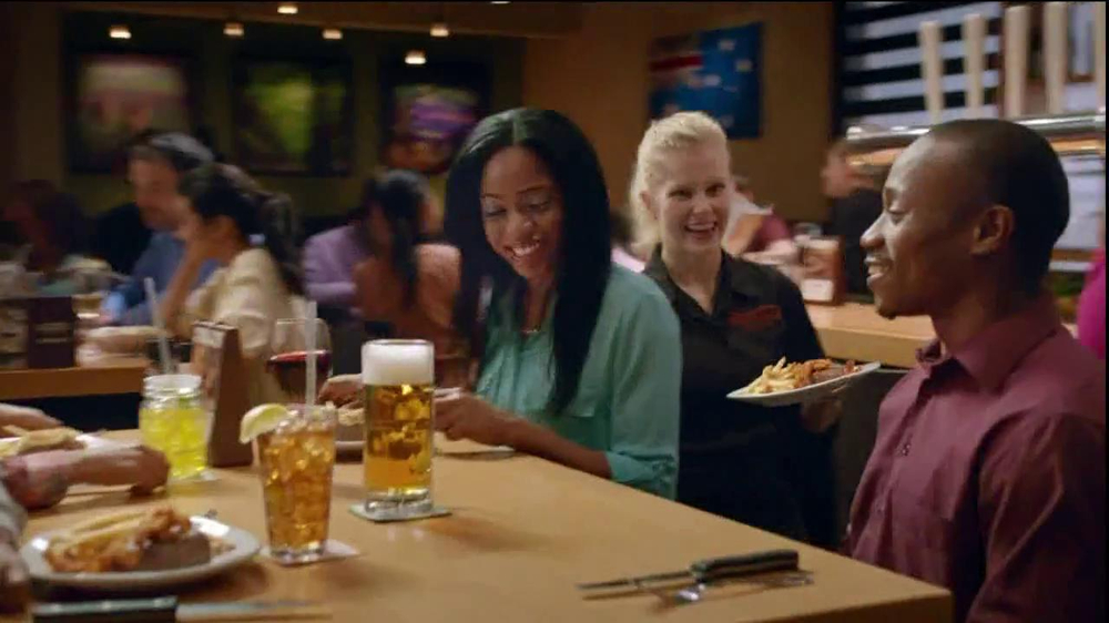 Outback Steakhouse TV Spot, 'Now That's a Steak Knife' - Screenshot 2