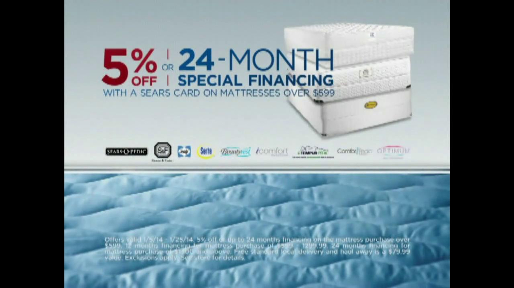 Sears Mattress Spectacular & Closeout TV Spot - Screenshot 8