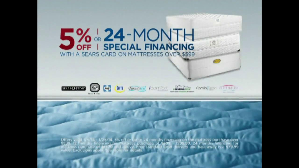 Sears Mattress Spectacular & Closeout TV Spot - Screenshot 7