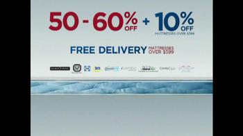Sears Mattress Spectacular & Closeout TV Spot - Thumbnail 6