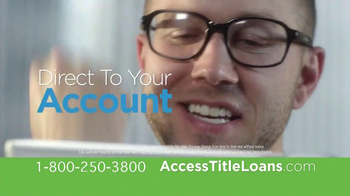 Access Title Loans TV Spot, 'Yes'