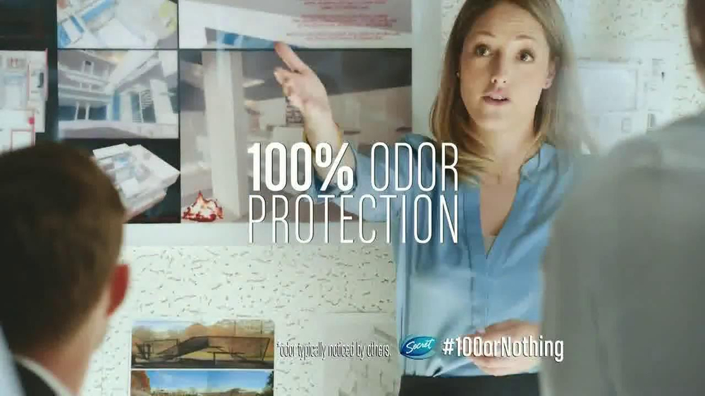 Secret Clinical Strength TV Spot, 'Presentation' - iSpot.tv