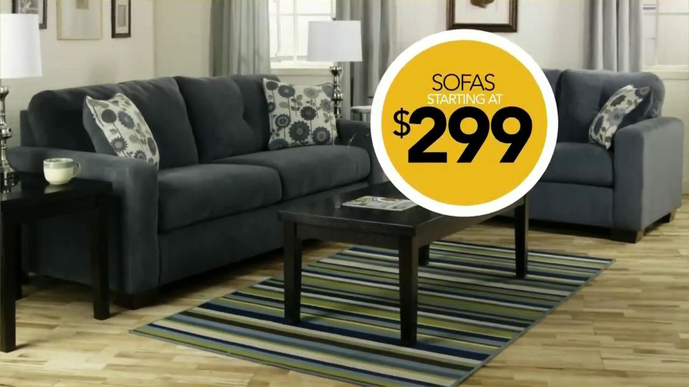 ashley furniture homestore national sale clearance tv commercial