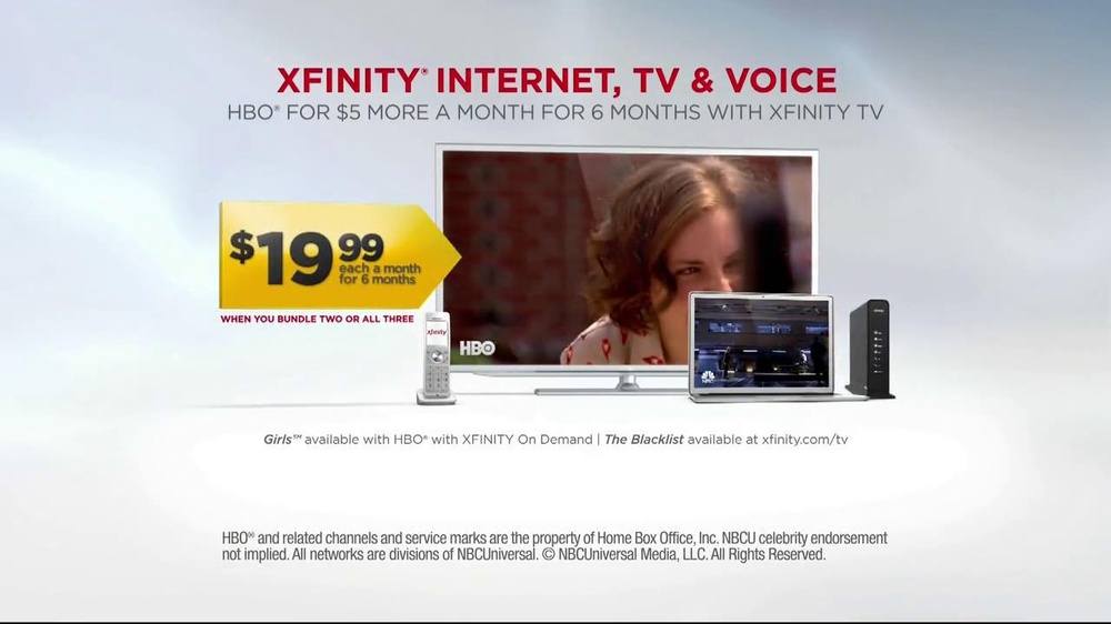 Xfinity Voice Internet TV