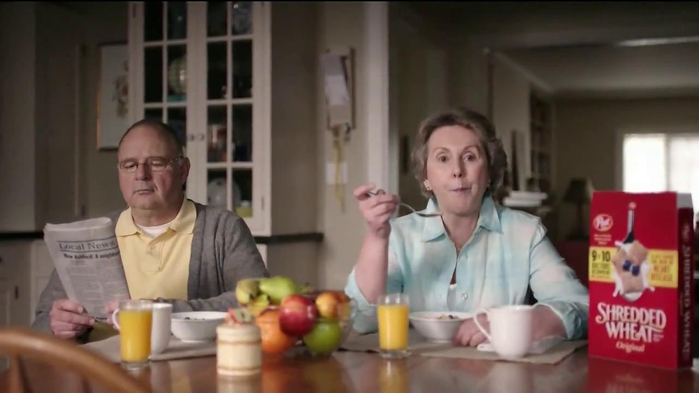 Shredded Wheat TV Spot, 'Talk Show' - Screenshot 2