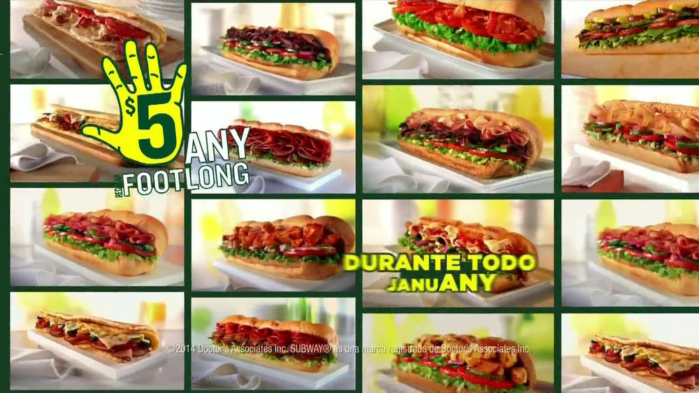 Subway TV Spot, 'JanuANY' Con Pelé y Michael Phelps - Screenshot 9