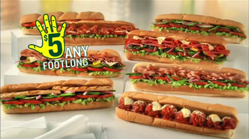 Subway TV Spot, 'JanuANY' Con Pelé y Michael Phelps - Thumbnail 3