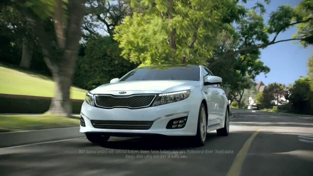 2014 Kia Optima White