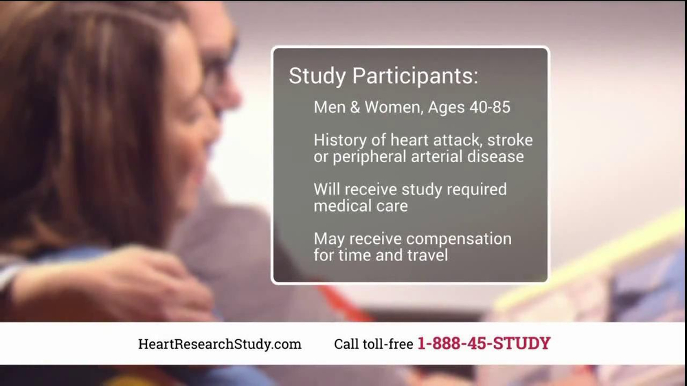 Heart Research Study TV Spot, 'Investigational Medication' - Screenshot 9