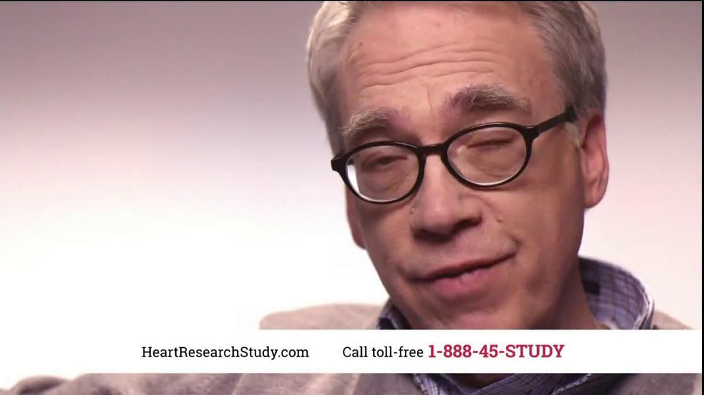 Heart Research Study TV Spot, 'Investigational Medication' - Screenshot 3