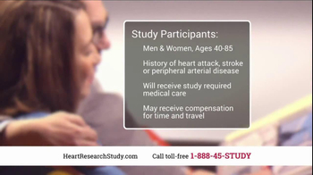 Heart Research Study TV Spot, 'Investigational Medication' - Thumbnail 9